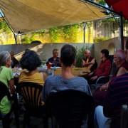 Discussion with Gendün Rinchen.