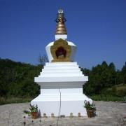 stupa-with-blue-sky_2845645240_o